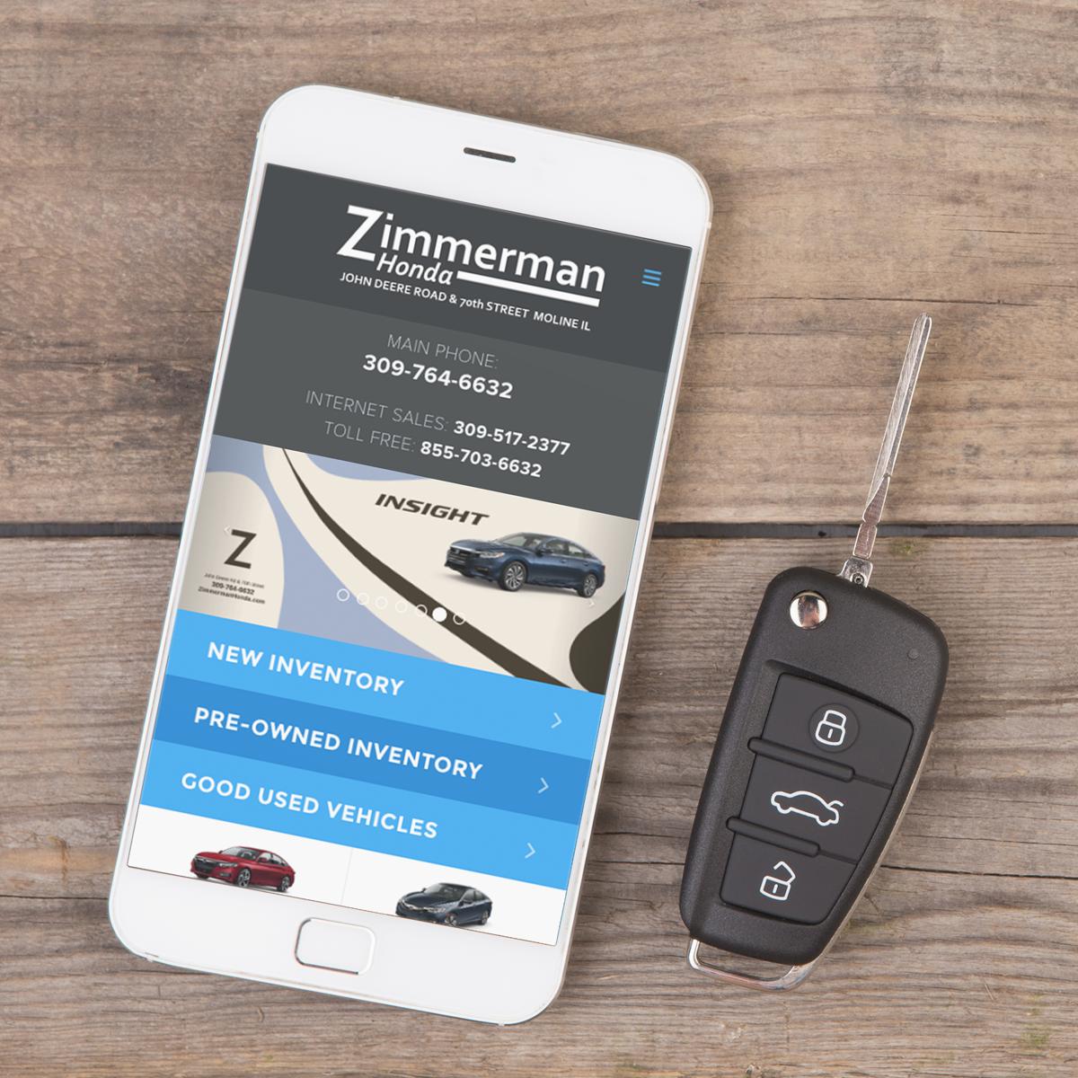 Zimmerman Honda | Terrostar Interactive Media