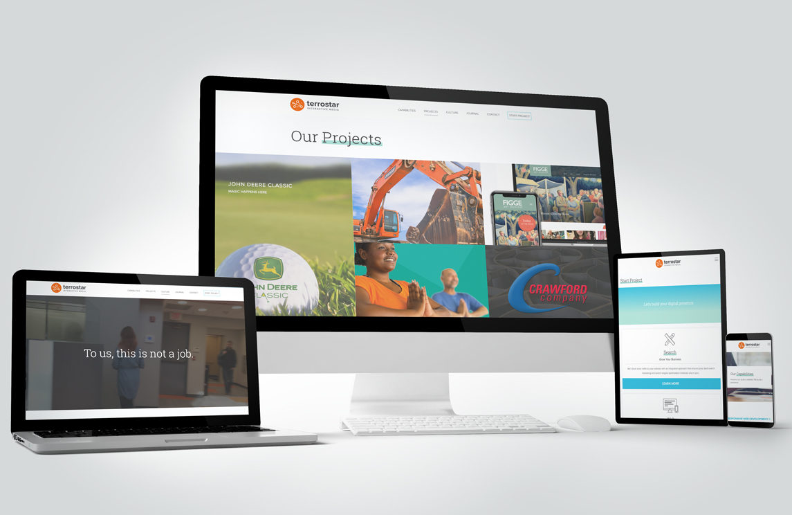 Quad Cities web design agency launches its re-imagined website