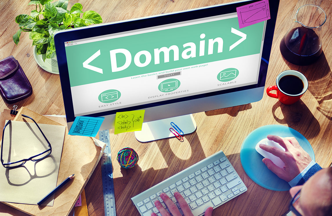 Learn the difference between your domain and website hosting